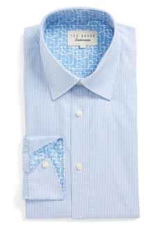 Ted Baker London Hooch Trim Fit Check Dress Shirt