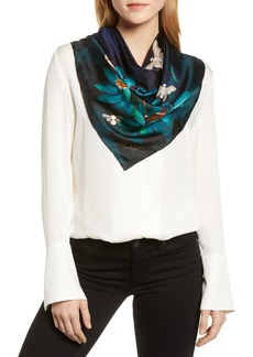 Ted Baker London Houdini Square Silk Scarf