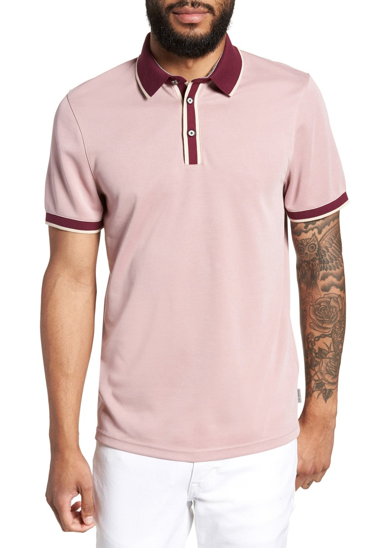 5fd798c4fda2 Ted Baker Ted Baker London Howl Trim Fit Polo Shirt