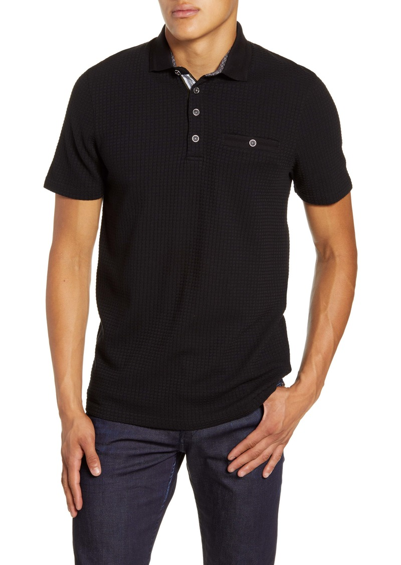 Ted Baker London Hughes Slim Fit Textured Polo