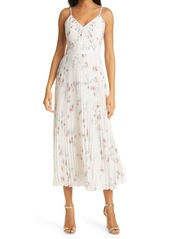 Ted Baker London Ianthe Floral Pleated Slipdress