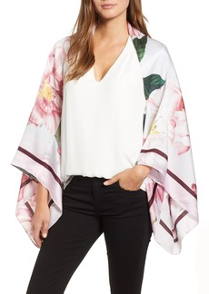 Ted Baker London Iguazu Silk Cape Scarf