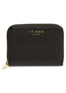 Ted Baker London Mini Illda Zip-Around Leather Clutch