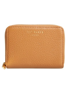Ted Baker London Mini Illda Zip-Around Leather Clutch