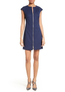 Ted Baker London Illidd Textured Front Sheath Dress