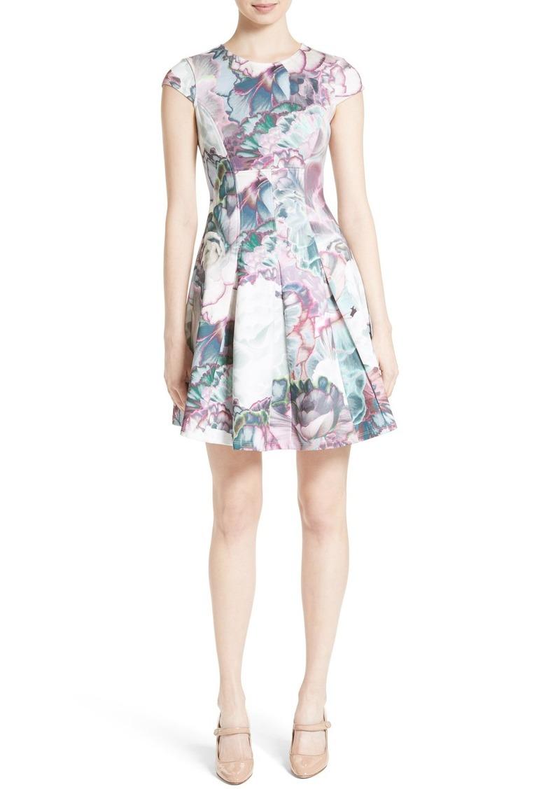 3281184a Ted Baker Ted Baker London Illuminated Bloom Skater Dress | Dresses