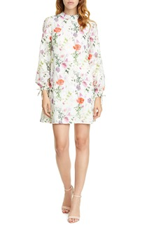 Ted Baker London Imane Hedgerow Long Sleeve Tunic Dress