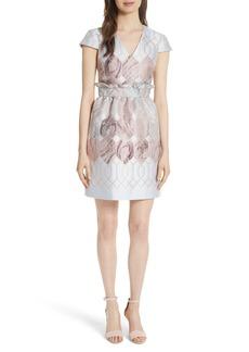 Ted Baker London Ingrida Sea of Clouds Tulip Dress