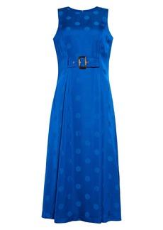 Ted Baker London Innabel Belted A-Line Midi Dress