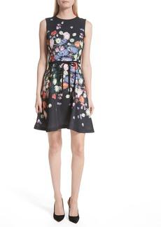 Ted Baker London Izobela Kensington Floral A-Line Dress