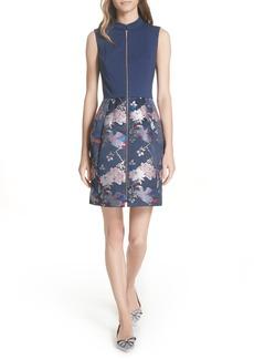 Ted Baker London Jacquard Dress