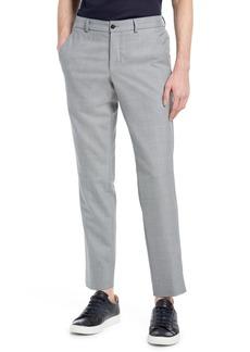 Ted Baker London James Flat Front Wool Blend Pants