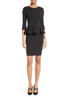 Ted Baker London Jamnie Peplum Body-Con Dress