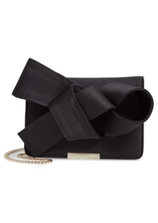 Ted Baker London Janyce Twisted Bow Clutch