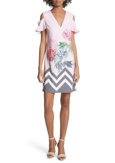 Ted Baker London Jareye Cutout Tunic Dress
