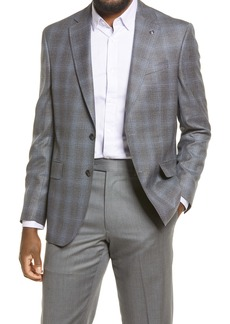 Ted Baker London Jay Trim Fit Mélange Wool Sport Coat