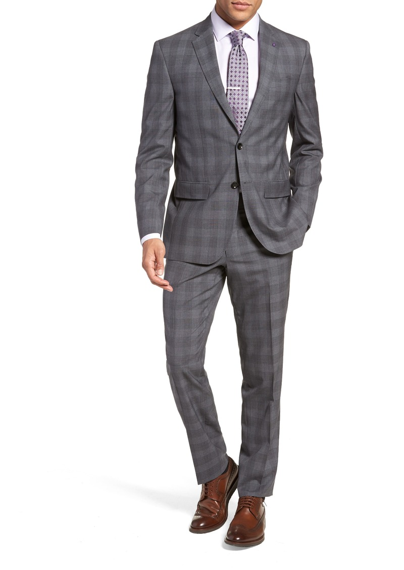7b6e6e5f1 Ted Baker Ted Baker London Jay Trim Fit Plaid Wool Suit
