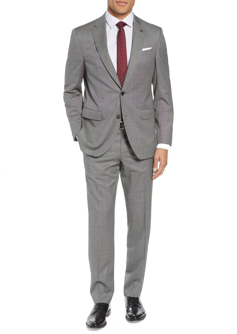aa1fb4f5664df6 Ted Baker Ted Baker London Jay Trim Fit Solid Wool Suit