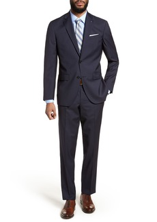 Ted Baker London Jay Trim Fit Stripe Wool Suit