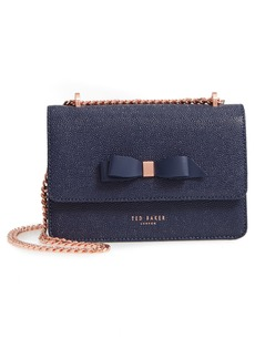 Ted Baker London Jayllaa Bow Leather Crossbody Bag