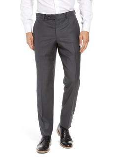 Ted Baker London Jefferson Flat Front Wool Trousers