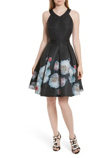 Ted Baker London Jelina Chelsea Floral Fit & Flare Dress