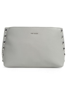 Ted Baker London Jemira Bow Leather Clutch