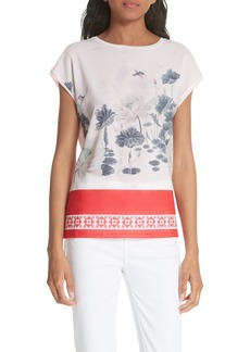 Ted Baker London Jennay Lake of Dreams Top