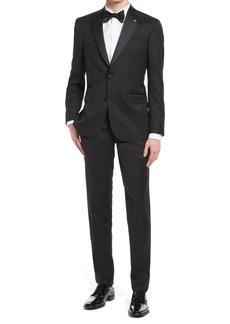 Ted Baker London Jenner Slim Fit Notch Lapel Wool & Mohair Tuxedo