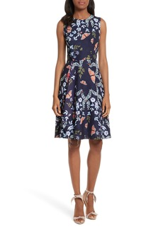 Ted Baker London Jennesa Kyoto Gardens Faux Wrap Dress