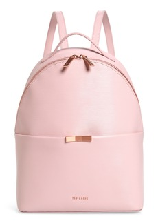 Ted Baker London Jenyy Faceted Bow Leather Backpack