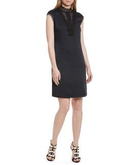 Ted Baker London Jesyka Lace Inset Tunic Dress