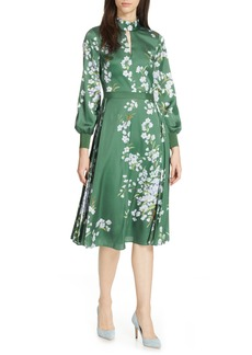Ted Baker London Jhenni Graceful Satin A-Line Dress