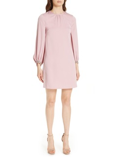 Ted Baker London Joele Embellished Cuff Shift Dress