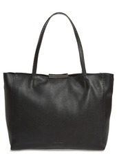 Ted Baker London Jordun Exotic Leather Shopper & Snake Embossed Leather Pouch