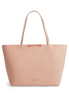 Ted Baker London Joycee Bow Detail Leather Shopper