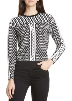 Ted Baker London Joziff Mixed Pattern Sweater