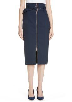 Ted Baker London Kaara Belted Pencil Skirt