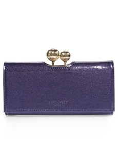 Ted Baker London Kalina Glitter Large Matinee Wallet