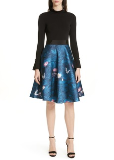 Ted Baker London Kalinaa Wonderland Fit & Flare Dress