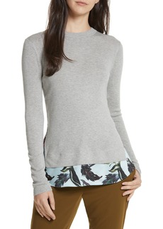 Ted Baker London Karley Minerals Mockable Sweater