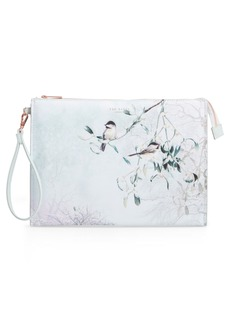 Ted Baker London Karlie Faux Leather Wristlet Pouch