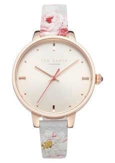 Ted Baker London Kate Leather Strap Watch, 36mm