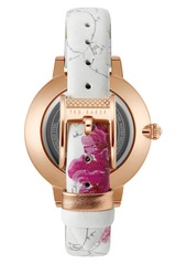 b5a270a849ee SALE! Ted Baker Ted Baker London Kate Leather Strap Watch Set