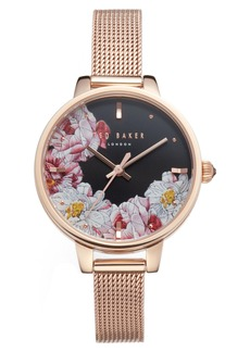 Ted Baker London Kate Mesh Strap Watch, 36mm