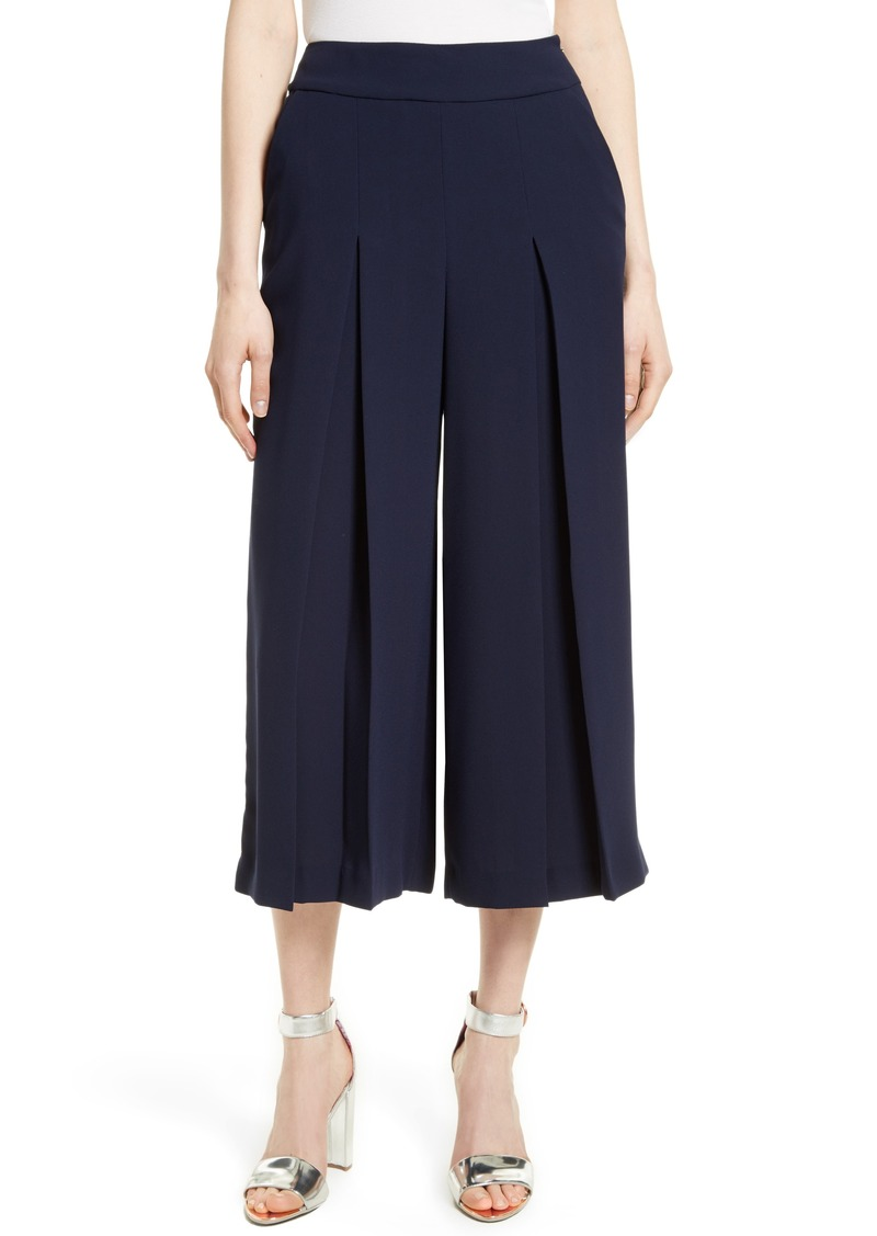 0f00074cf Ted Baker Ted Baker London Katiea Pleat Crepe Culottes
