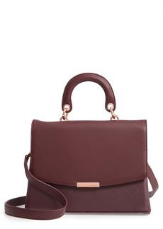 Ted Baker London Keiira Lady Bag Faux Leather Top Handle Satchel