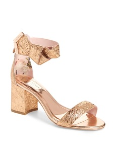 Ted Baker London Kerria Block Heel Sandal (Women)