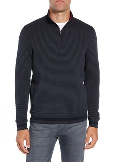Ted Baker London Ketchup Trim Fit Half Zip Pullover