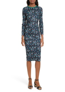 Ted Baker London Kielder Print Body-Con Dress